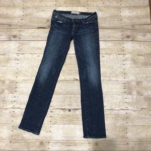 Girls Abercrombie Stretch Jeans-EUC